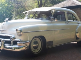 Classic American wedding car hire in Richmond